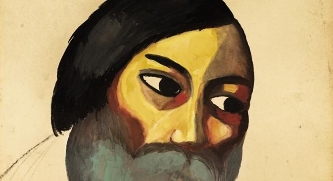 Казимир Малевич. Главата на селанец. Извор: Sotheby's