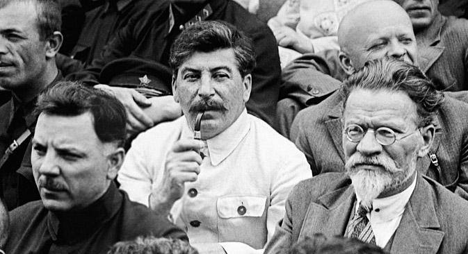 Јосиф Сталин на Првиот Сојузен конгрес на колхозници-ударници во Москва на 19 февруари 1944 година. Извор: РИА Новости