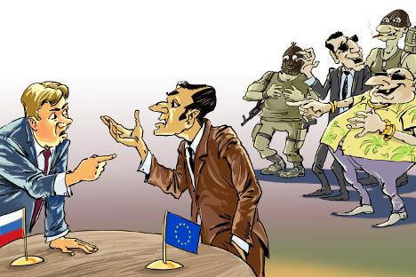 Карикатура: Татјана Перелигина