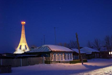 Зафрлено село во Чељабинската област. Извор: ТАСС