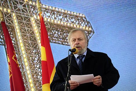 Леонид Лебедев, член на Советот на федерацијата на Федералното собрание на Руската Федерација. Извор: Драган Митревски.