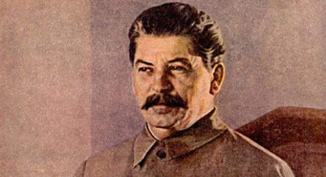 Исак Бродски (1889 - 1939): Сталин