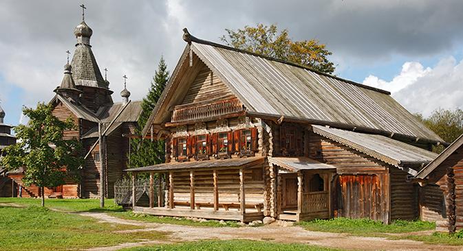 """Музејот """"Витославлици"""" кај Велики Новгород. Извор: ТАСС"""