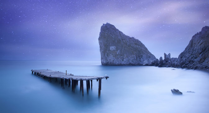 Синиот залив. Извор: Lori / Legion Media
