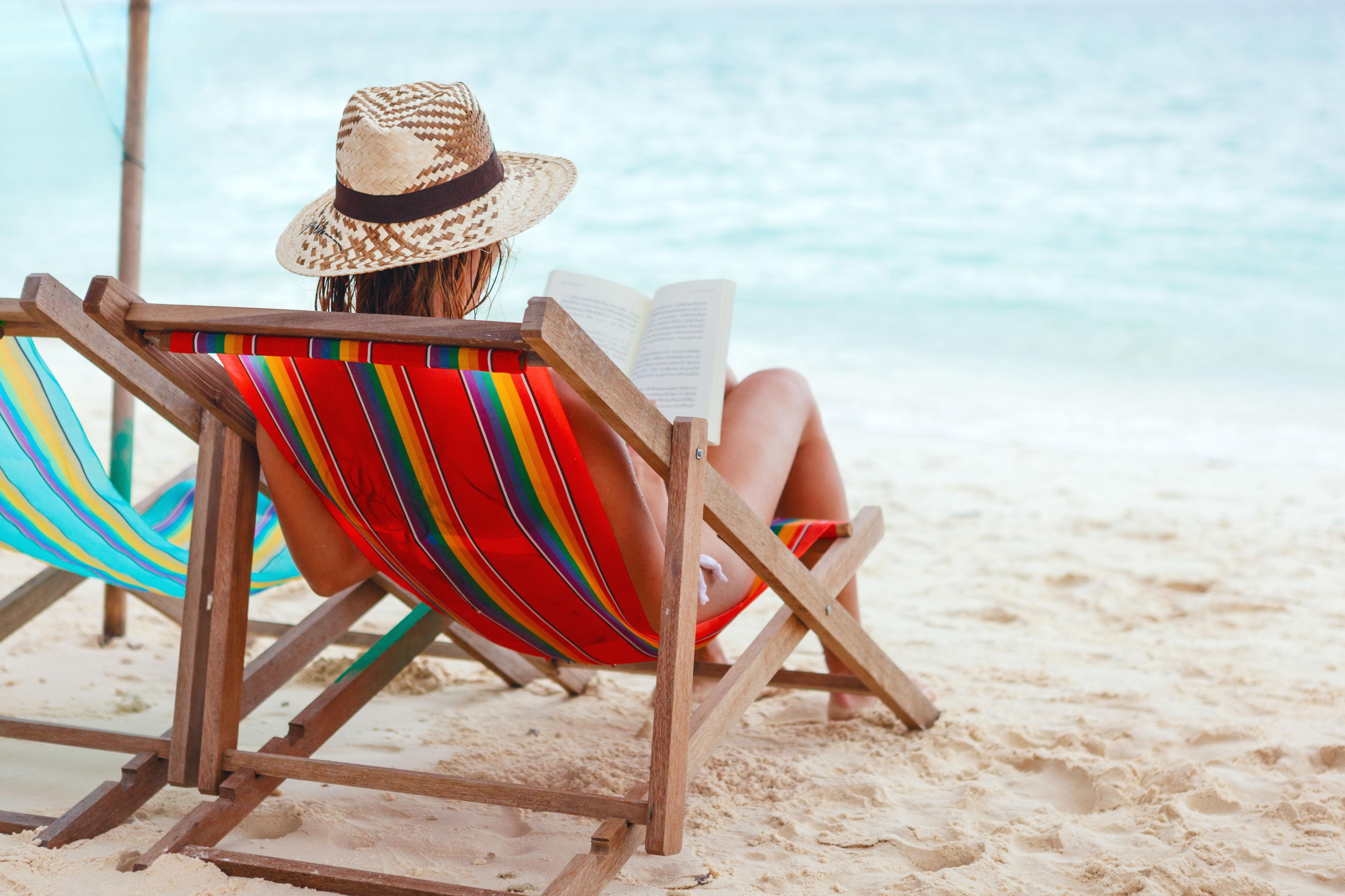 Una mujer en la playa. Fuente: Shutterstock