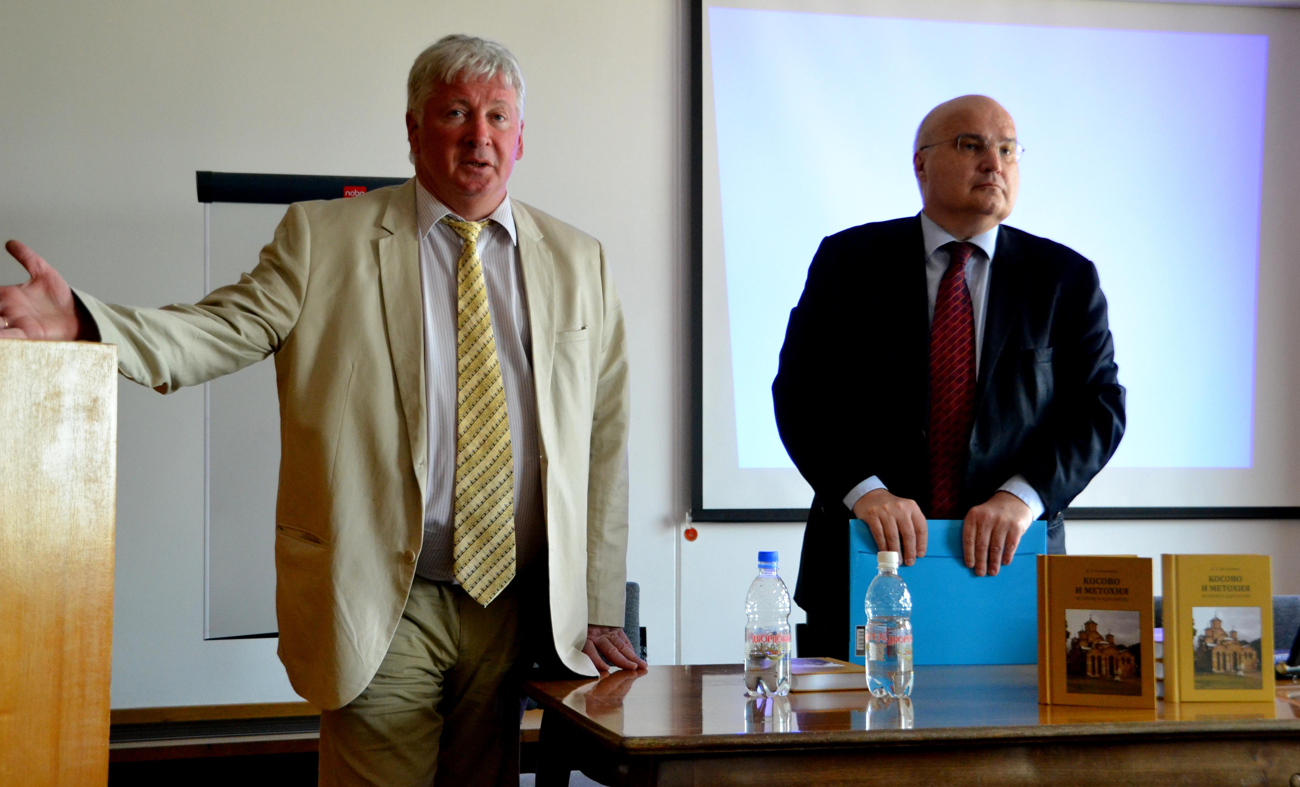 Константин Никифоров и Душан Батаковић. Фото: Алина Јаблочкина.