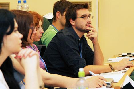 Након три месеца учења просечни студенту већ знају да користе српски у разним животним ситуацијама. Извор: IKBFU.