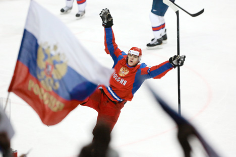 Јевгениј Малкин, најбољи играч Светског првенства 2012. Извор: ИТАР-ТАСС.