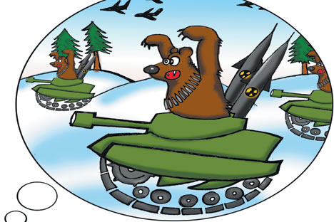 Автор на карикатурата: Нијаз Карим.