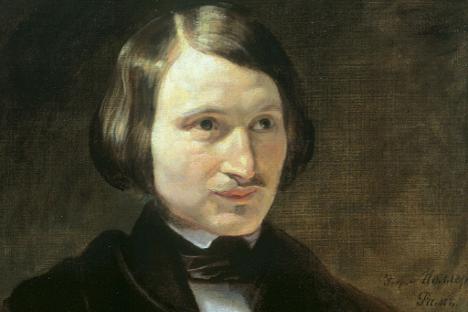 Nikolaj Gogolj. Delo Fjodorja Molera, 1840.