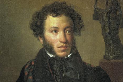 Aleksander Puškin. Delo Oresta Kiprenskega, 1827.