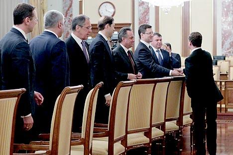 Бивша влада Владимира Путина и садашња влада Дмитрија Медведева  концептуално се веома разликују. Извор: ИТАР-ТАСС.