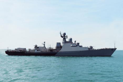 "Ракетни брод ""Дагестан"". Извор: Зеленодољски СС3 / Росијска газета."