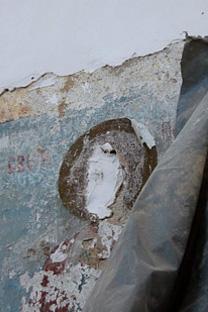 На иконама у храму унакажени су ликови светитеља. Извор: sedmitza.ru.