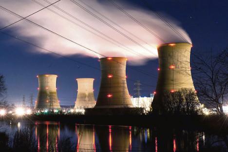 """Државна корпорација """"Росатом"""" изградиће преко 100 нуклеарних реактора широм света. Извор: Getty Images / Fotobank."""