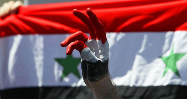 Демонстрације подршке Башару Асаду у Дамаску. Извор: AP / Билал Хусеин.