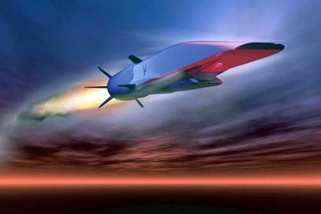 Америчка  хиперсонична ракета X-51A WaveRider. Извор: US Air Force/Handout/Reuters.
