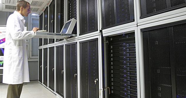 """Руски суперкомпјутери биће конструисани у лабораторијама Руске академије наука. Извор: РИА  """"Новости""""."""
