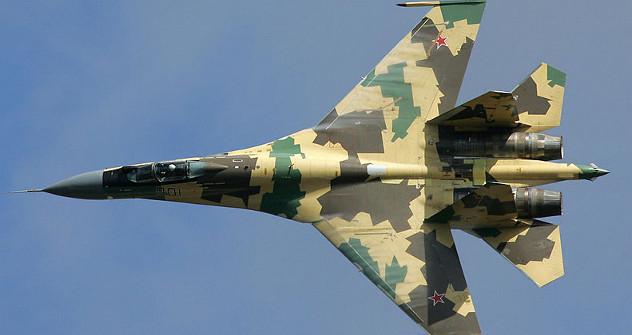 Нови Су-35 је предвиђен за шест хиљада летних часова, а рок трајања му је 30 година. Фотографија из слободних извора.