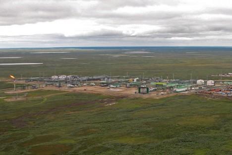 Западно-Хоседајуско налазиште нафте у Јамало-Ненецком Аутономном Округу (северозападни Сибир). Извор: Росиjска газета.