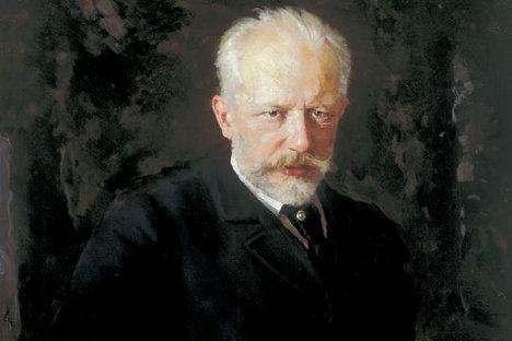 """Николај Кузњецов (1850-1929). Петар Иљич Чајковски, 1893. Државна галерија """"Павел Третјаков"""", Москва."""