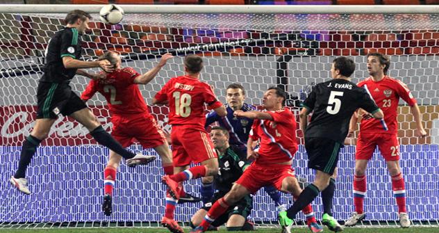 Репрезентација Русије победила је Северну Ирску у квалификацијама за светско првенство 2014. Извор: Сергеј Савостјанов / Росијска газета.