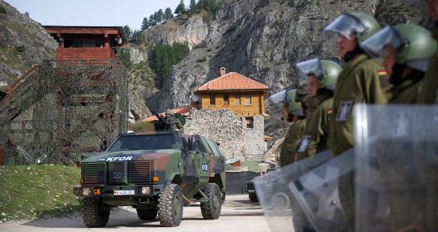 На Косову ће остати мисија за надгледање поштовања закона и владавине права (EULEX) која је формирана под покровитељством ЕУ, као и контингент КФОР-а под командом НАТО-а. Извор: Reuters / Vostock-Photo.