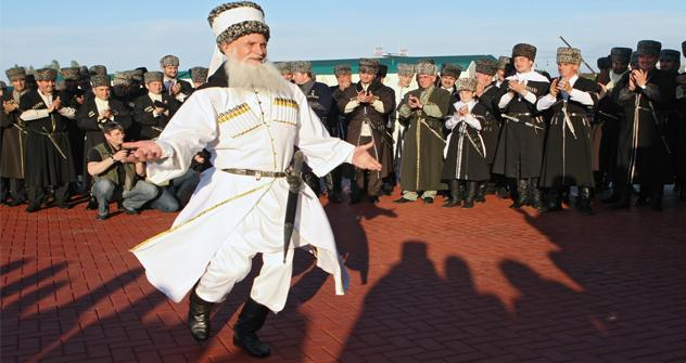 """Житељи Грозног су најсрећнији у Русији. Извор: РИА """"Новости""""."""