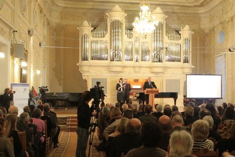 У Санкт Петербургу је одржан међународни конгрес Европске асоцијације конзерваторијума. Извор: Администрација Санкт Петербурга.