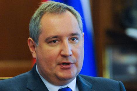 Russian Deputy Prime Minister Dmitry Rogozin.