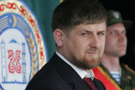 Председник Чеченије, Рамзан Кадиров. Извор: Росијска газета.