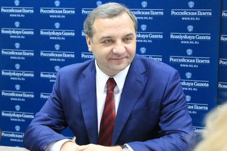Russian Emergencies Minister Vladimir Puchkov.