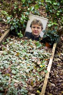 Гроб Александра Литвињенка у Лондону. Фотографија: Peter Pelisek.