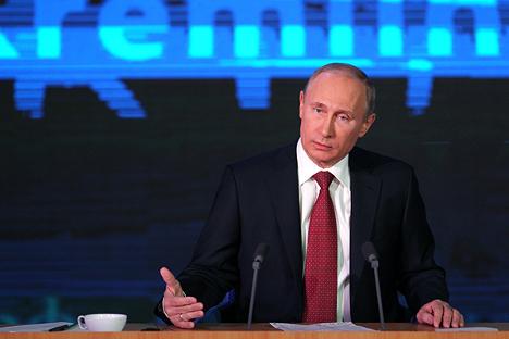 Russia's President Vladimir Putin. Source: RG