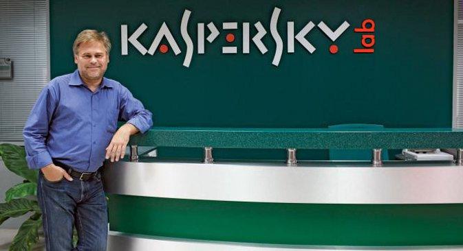 """""""Лабораторија Касперског"""" је установила да је операција """"Црвени октобар"""" започета још 2007. и да још увек траје. На фотографији: Јевгениј Касперски. Извор: ИТАР-ТАСС."""