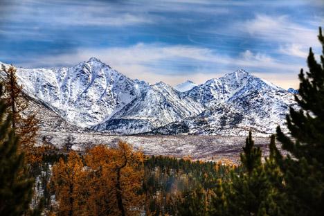 Алтајске планине у Сибиру: дом денисоваца, хоминида који су живели пре око 50.000 година и оставили своје генетске трагове у геному савремених људи. Извор: Lori / LegionMedia.