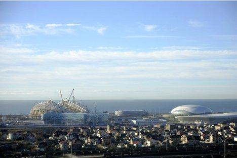 """Дмитриј Чернишенко, председник Организационог одбора Зимских олимпијских игара 2014, описао је Сочи као """"највеће градилиште на свету"""". Фотографија: Михаил Мордасов."""