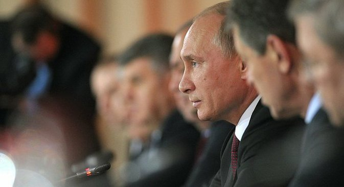 Владимир Путин је истакао повећање значаја културно-цивилизацијске димензије конкуренције у свету. Извор: президент.рф.