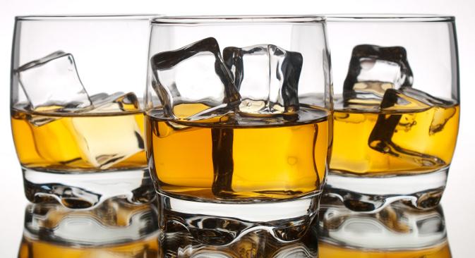 Највећи раст продаје у односу на прошлу годину бележи продаја вискија, и то за целих 66%. Удео овог пића на тржишту достигао је 25%, док је 2011. по први пут у историји продаја вискија премашила продају премијум вотке. Извор: Lori / Legion Media.