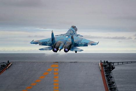 Финци су веома заинтересовани за мултифункционалне летелице као што је руски Су-30. Извор: Владимир Рувински.