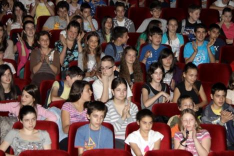 Богати свет руских цртаних филмова био је право откриће за младу српску публику. Фотографија: Дмитриј Ткаченко.