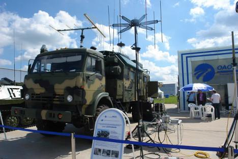 Руска апаратура за радиоелектронску борбу нове генерације. Извор: Росијска газета.