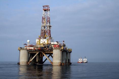 """""""Гаспром"""" показује своје интересовање за гасне хидрате још од 2000. а њиховим проучавањем се бави његов научноистраживачки институт """"Гаспром ВНИИГАС"""". Извор: """"Гаспром""""."""