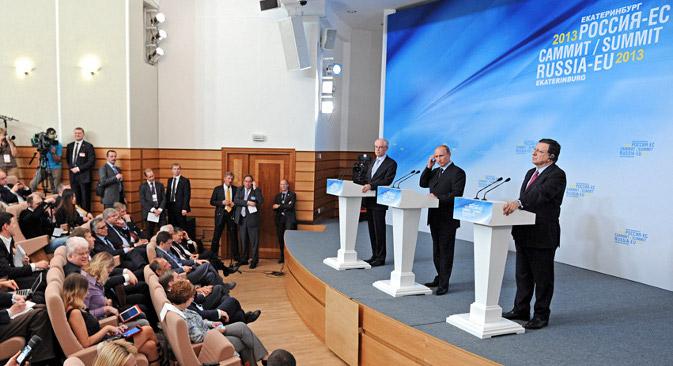 Као што се и очекивало, на протеклом самиту Русије и Европске уније много времена је посвећено Сирији. Извор: Reuters.