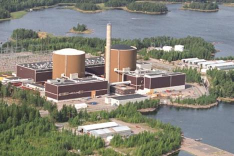 """Нуклеарна централа """"Ловииза"""" во Финска. Извор: Press Photo."""