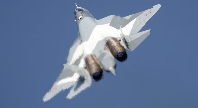Т-50 подиже руску војну авио-индустрију на суштински другачији технолошки ниво. Извор: ИТАР-ТАСС.