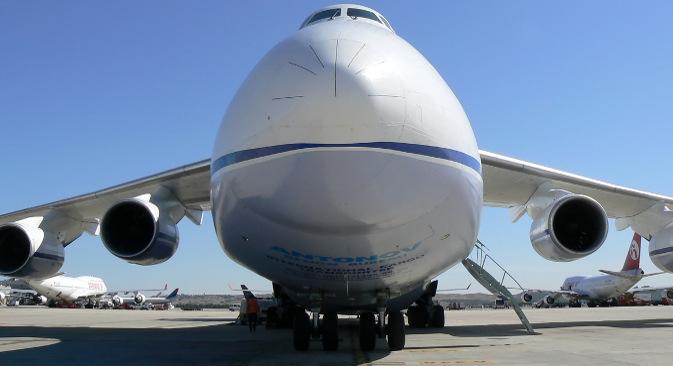 """""""Руслан"""" Ан-124 је једини авион на свету који у ваздух може да подигне терет до 150 тона. Фотографија: Jose Luis Celada Euba."""