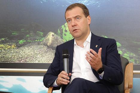 Дмитриј Медведев: То није био дубински конфликт између наших народа. Извор: Росијска газета.