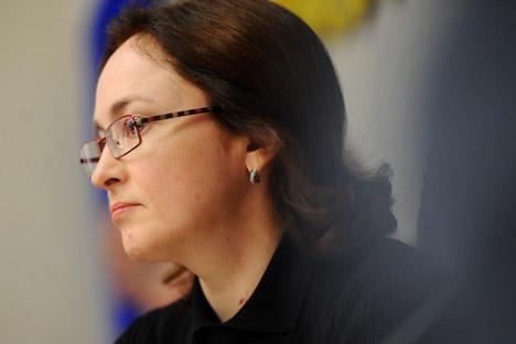 Директорка Централне банке Русије Елвира Набиулина. Извор: ИТАР-ТАСС.