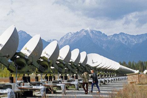 Гама телескоп ће заузети површину од око 100 km² док ће се његови детектори налазити на удаљености од 100 m један од другог. Извор: ИТАР-ТАСС.